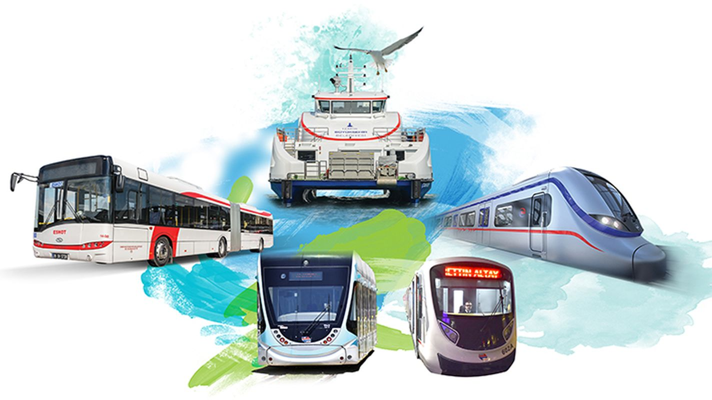 eshot buses izdeniz ships are not produced on tram and metro holidays