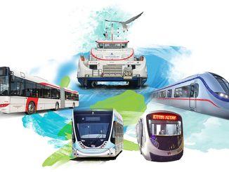 eshotski autobusi brodovi izdeniz ne proizvode se na tramvajskim i metro praznicima