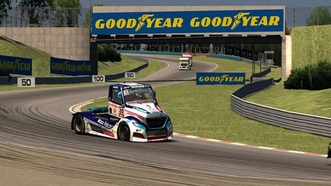 Excitement continues in fia etcr virtual truck racing