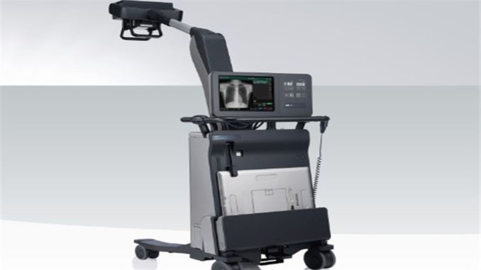 fujifilmden fdr nano mobile digital x-ray device