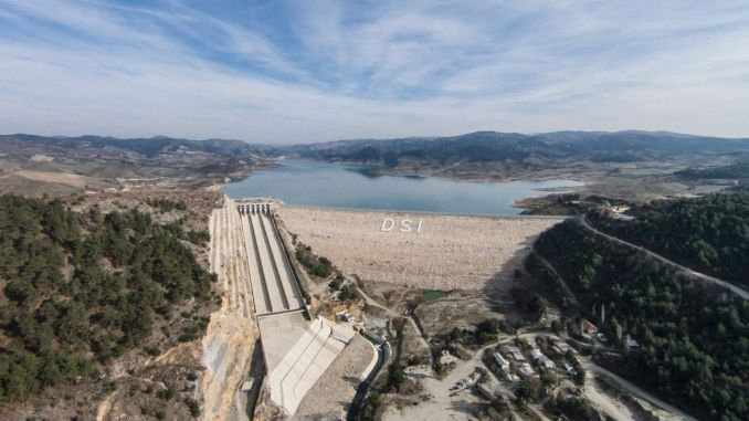 Handover protocol signed for the gordes dam