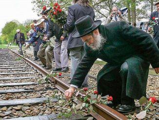 millioner euro til minde om holocaust fra den nederlandske nationale jernbane