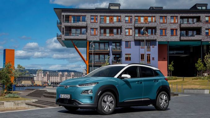 hyundai kona electric sales exceeded one hundred thousand