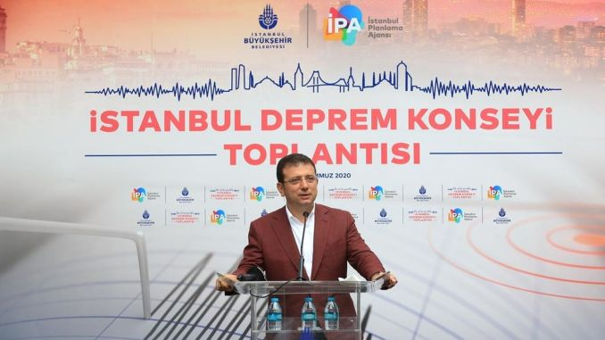 imamoglu channel is the second threat after istanbul earthquake