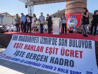 Рабочие ХХ получили социальные права в Измире