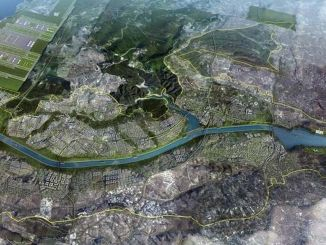 channel details the new city to be built around istanbul