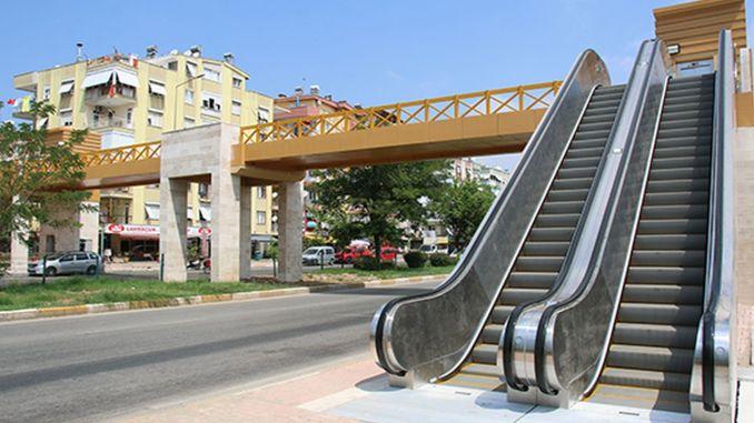 Ο δρόμος kizilirmak άρχισε να εξυπηρετεί τον πεζόδρομο