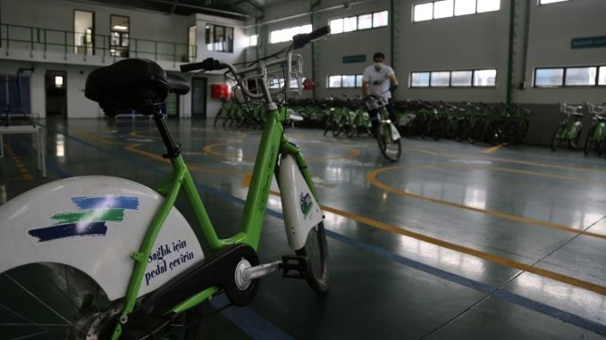 average bicycle is damaged every day in Kocaeli