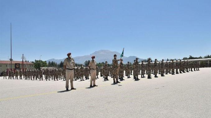 লিবিয়ার অফিসার দ্বীপ স্পেনের সামরিক শিক্ষার্থীদের প্রশিক্ষণ শুরু করে