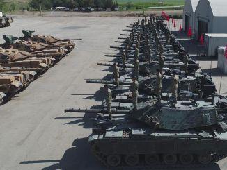 mt戦車の近代化活動が完了しました
