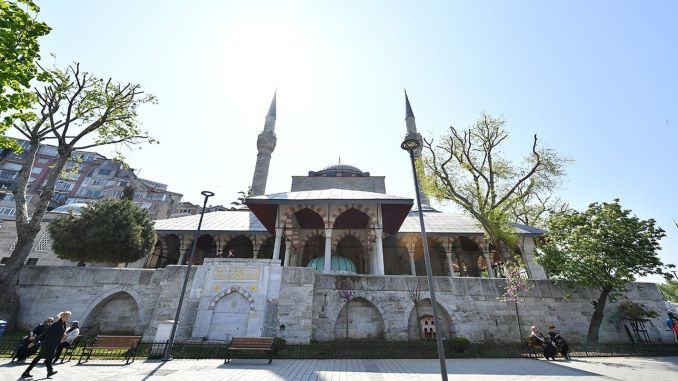 about mihrimah sultan mosque