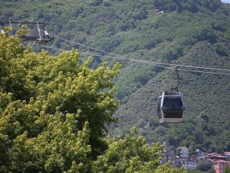 Boztepe cable car and reverse house in the army opened again