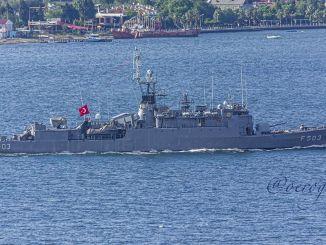 A török haditengerészet burak osztályú korvetait korszerűsítik