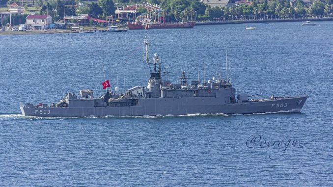 burak class corvettes in the turkish navy are being modernized