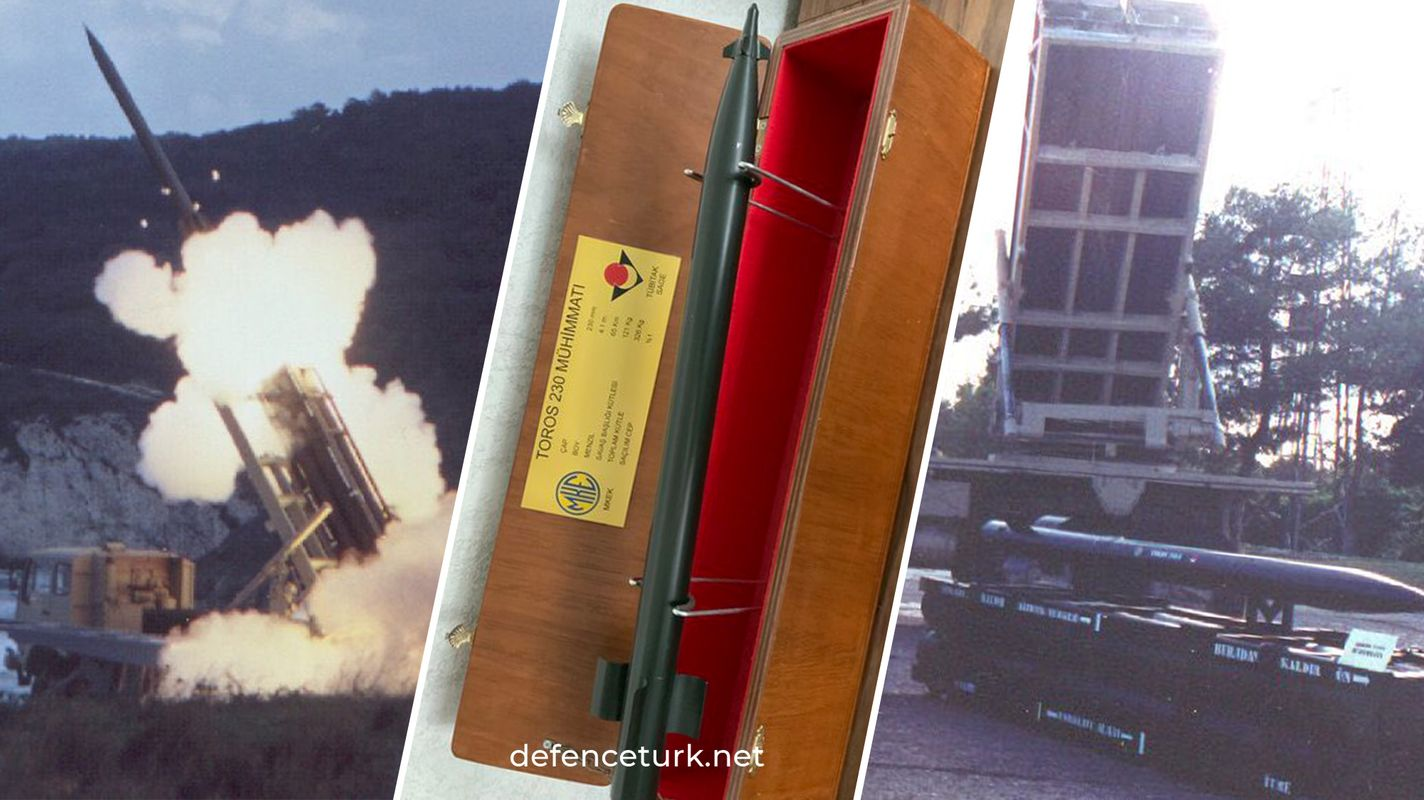 turkiyenin ilk yerli ve milli topcu roket sistemi toros