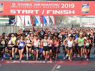 pandemi setengah maraton vodafone istanbul akan dijalankan oleh langkah-langkah