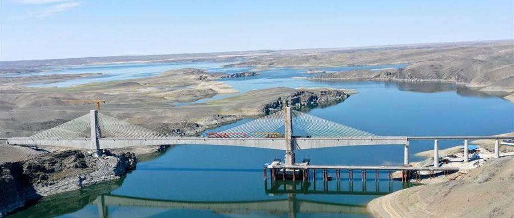 Ny jernbanelinje i den autonome region Xinjiang Uygur er afsluttet