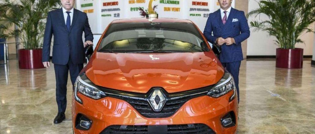 Årets nye Clio ogd bil på Oyak Renault fabrikker