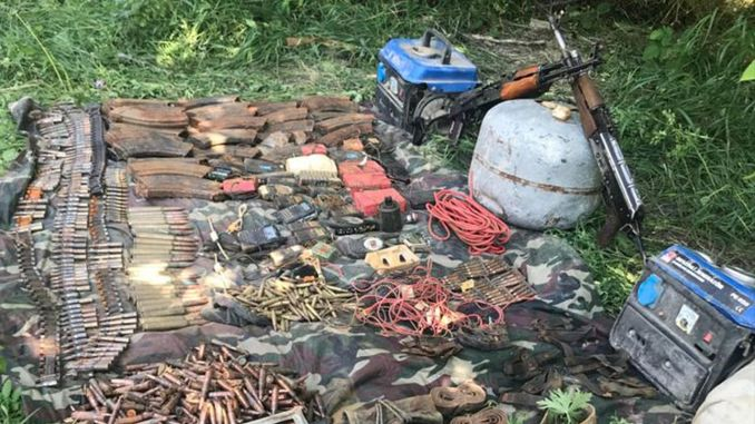 Numerous ammunition was seized within the scope of the Yildirim cilo operation.