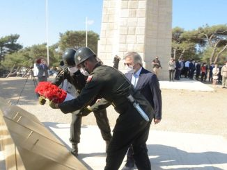 Memorial ceremony was held due to the anniversary of the Anafartalar victory