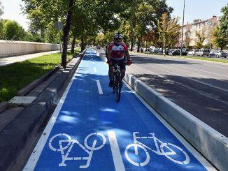 Ankara har sin første cykelsti