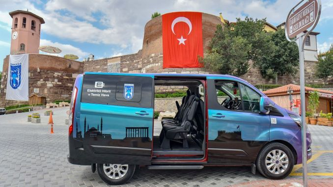 touristic hybrid vehicle is very popular in Ankara