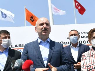 Minister Karaismailoglu Gediz Monument Road Intersections