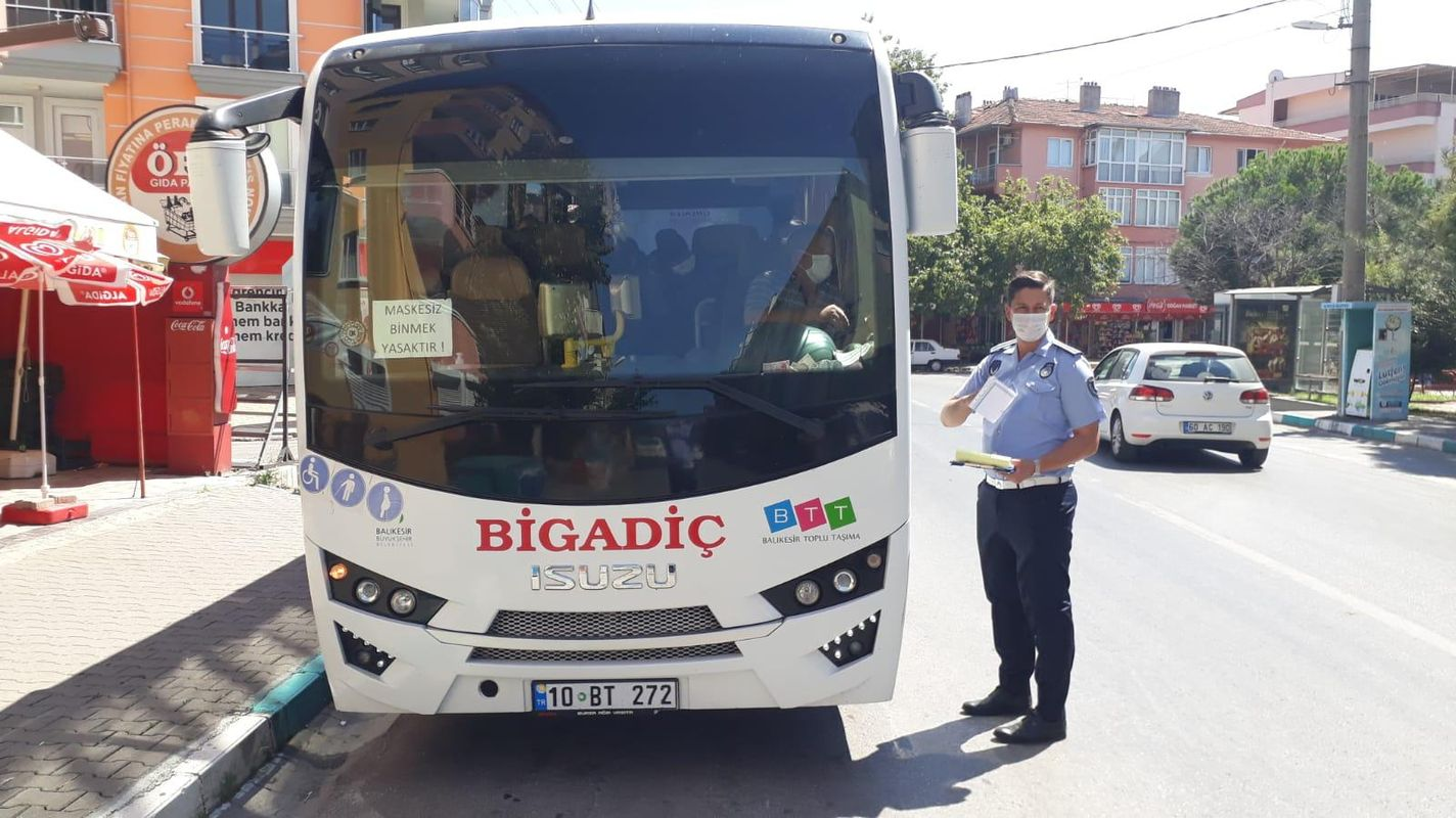 In Balıkesir-public-transport-vehicle-control-in-Kovid-19 was made