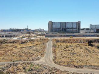 Mayor Şahin Examined Gaziantep City Hospital Environment Reconstruction Roads Study