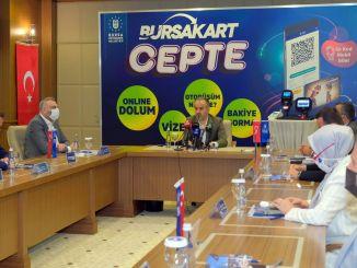 """Nowa era w transporcie w Bursie rozpoczyna się od """"Burs Board Mobile"""""""