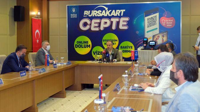 Bursa da Nəqliyyatda Yeni Dövr 'Burs Board Mobile' ilə başlayır