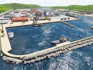 A Filyos kikötő építésének százaléka befejeződött