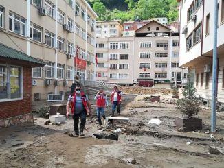 Wydłużono okres opłacania składek na ubezpieczenie społeczne obywateli dotkniętych powodzią w Giresun