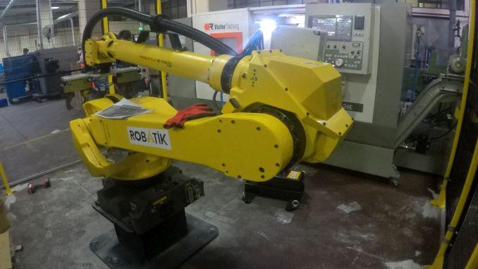 Schlüsselfertiges Projekt der gnc-Maschinen- und Robotermaschinenparkberatung
