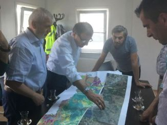 The route of south marmara highway has been finalized and the first pickaxe will be hit