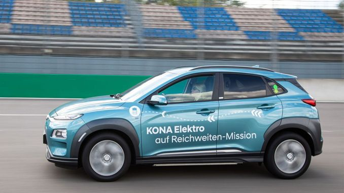 Hyundai-kona-house-one-charge-1-026-km-road-by-range - حطم الرقم القياسي