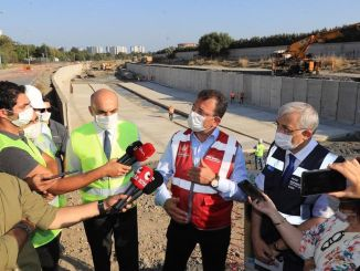imamoglu ayamama creek studied the improvement works on site
