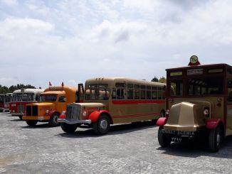 Istanbuls transporthistorie vises i Kemerburgaz byskov