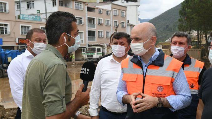 Giresun'da Ana Arter Yolları Açıldı, Ulaşım Altyapısı Yenilenecek