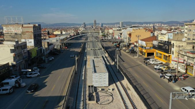 City square terminal tram line completion work is starting