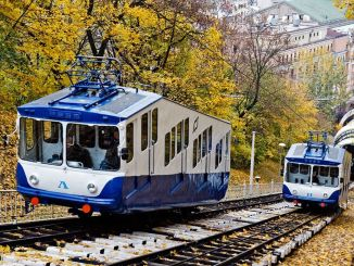 kiev funicular line will start working again in august