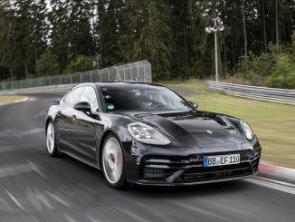 Rekord iz Porscheja Panamere z Michelin pnevmatikami