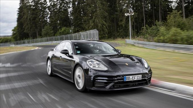 Lap record from Porsche Panamera with Michelin tires