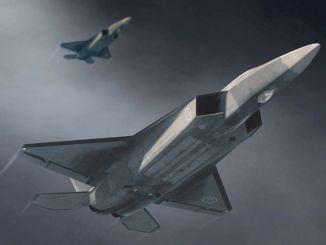 nacionalni borbeni zrakoplov izaći će iz hangara dok je motor pokrenut
