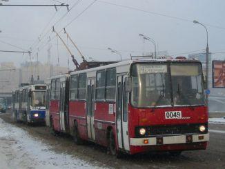 Perpisahan dengan Trolleybus yang Bekerja di Moskow Sejak 1933