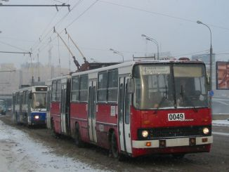 Farewell to Trolleybuses Working in Moscow Since 1933
