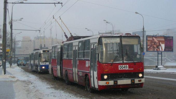 Сбогом на тролейбусите, работещи в Москва От 1933г