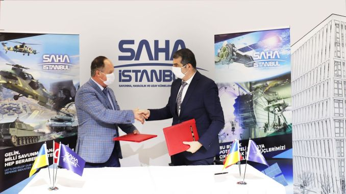 Cooperation Agreement between SAHA Istanbul and UKRAVIAPROM