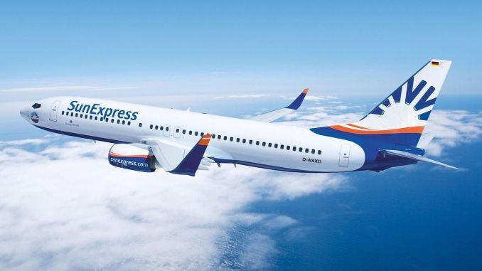 sunexpress разширява своята анадолска и европейска полетна мрежа