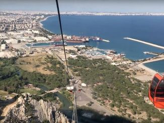 tunektepe cable car facility welcomed a thousand people during the holiday